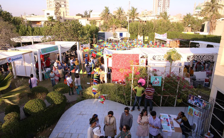 CKF 2016 at a glance (photo credit: T2F) - Creative Karachi Festival 2016 - A Tribute to Sabeen Mahmud