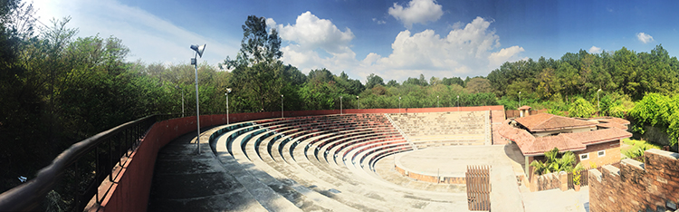 Open Air Theatre, Shakarparian - Destruction of Shakarparian Islamabad