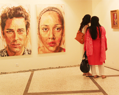 Doppelganger Art Exhibition on 29th September 2015 at Khaas Art Gallery