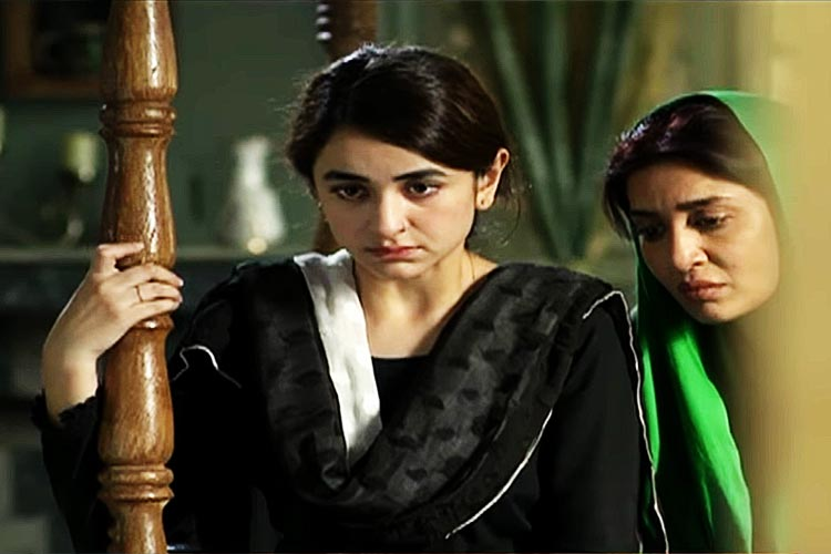 Yumna Zaidi as Sila and Saman Ansari as Sadia