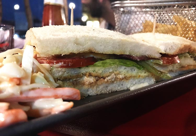 #Eat Restaurant, Gol Market, Islamabad - Club Sandwich