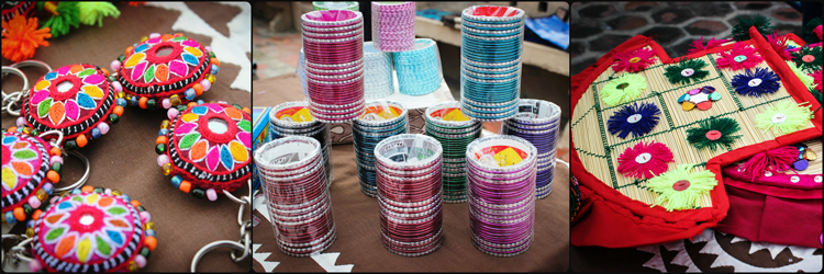 Handmade keychains, fans from Khairpur and bangles from Hyderabad - Eid Mela in Islamabad