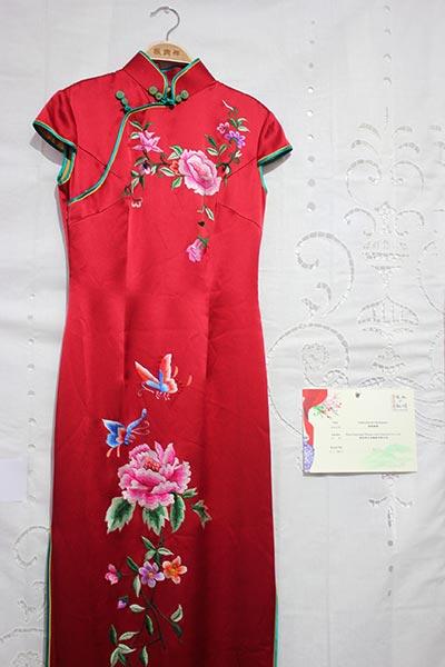 Chinese Silk Cheongsam