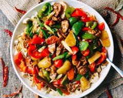 Famous Xinjiang Delicacy: Big-Plate Chicken