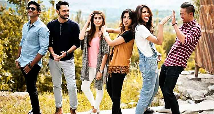 The CTS cast - Film Chalay Thay Saath Review