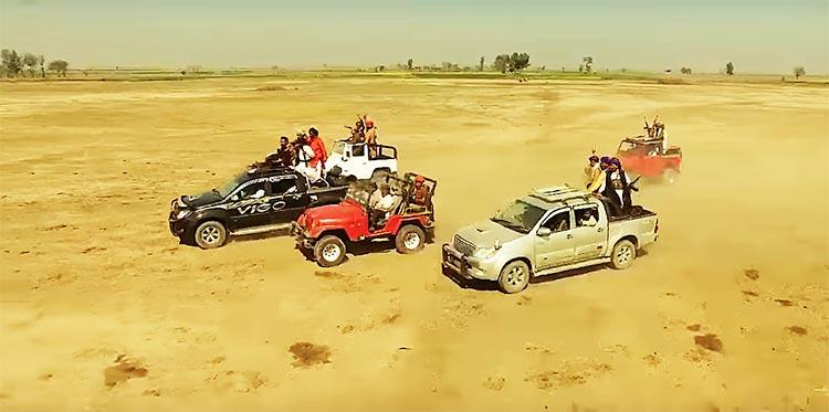 Chotu Gang in the film 'Geo Sar Utha Kay'