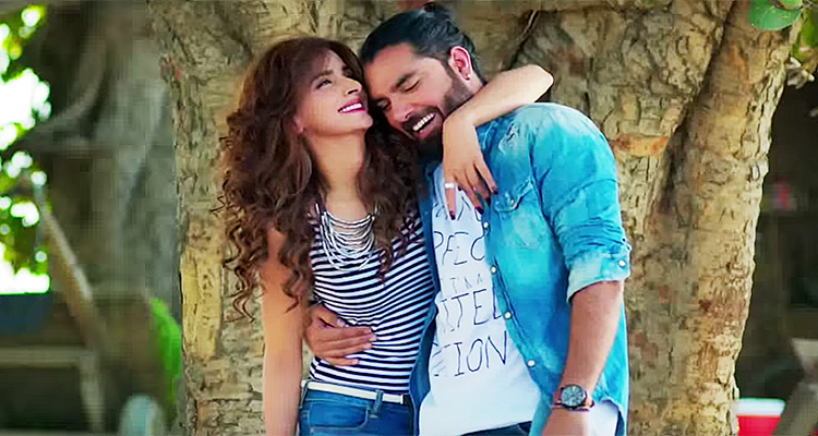 Saba Qamar as Taraa and Yasir Hussain as Moti - Film Lahore Se Aagey Review