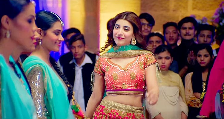 Urwa Hocane as Durdana in the film Punjab Nahi Jaungi