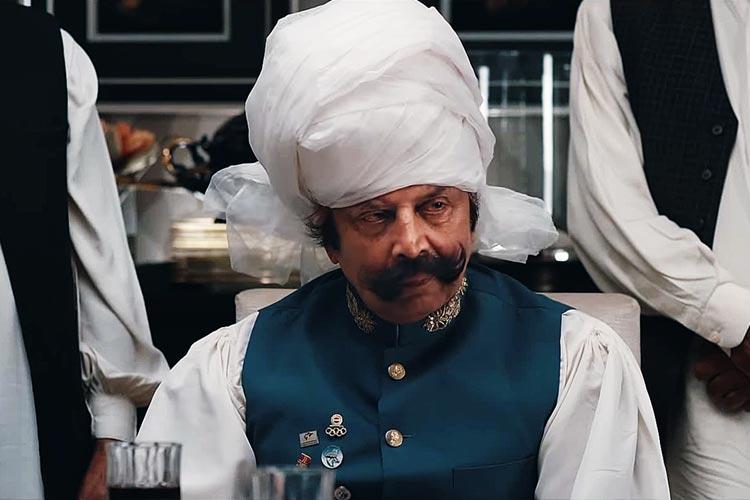 Malik Ata Muhammad Khan as the Governor