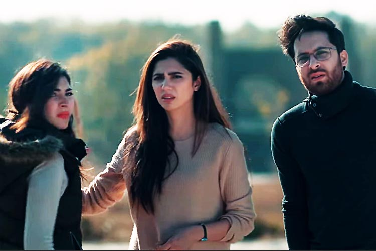 Haroon Shahid, Mahira Khan and Naimal Khawar