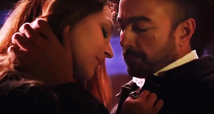 Sana Bucha as Sadia and Shaan Shahid as Col. Asad - Film Yalghaar Review