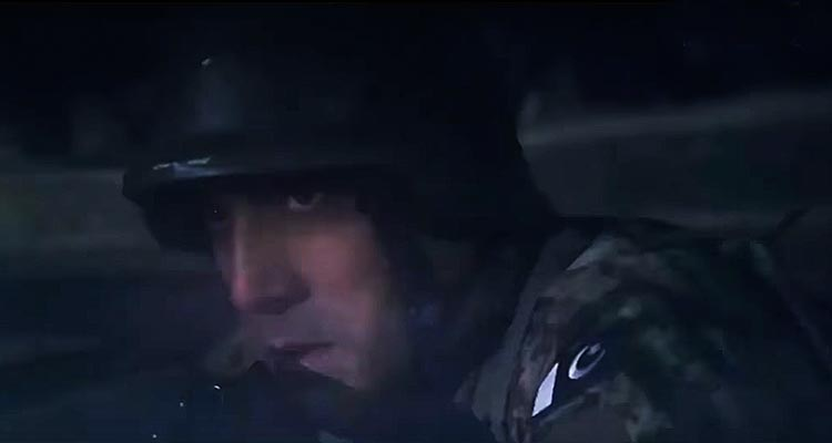 Adnan Siddiqui as Lt Col. Imran - Film Yalghaar Review
