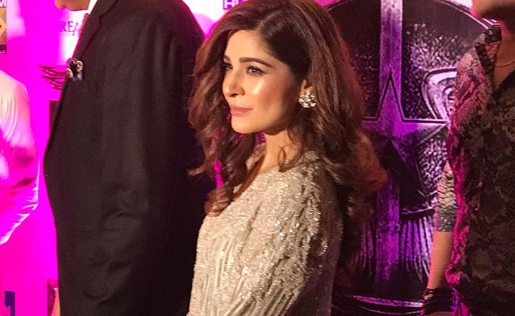 Ayesha Omar at the launch - Film Yalghaar Review