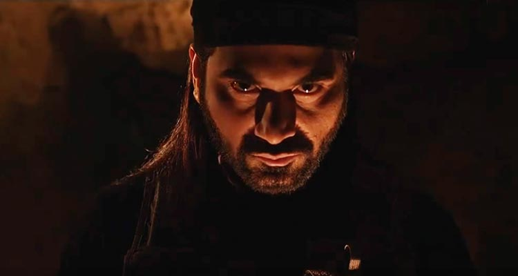 Humayun Saeed as Torjan in Yalghaar - Film Yalghaar Review