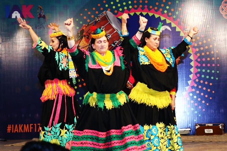 Kalash Dance - First Ever Lok Mela in Karachi