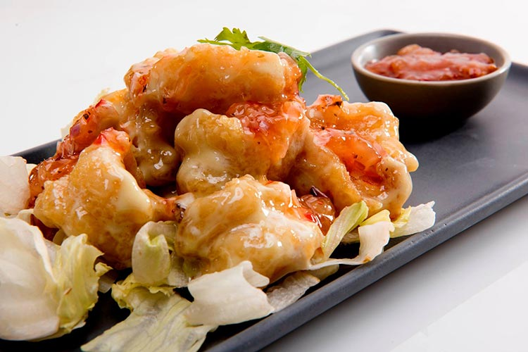 Wasabi Prawns - Food Review: Soi Asian Bistro, Karachi