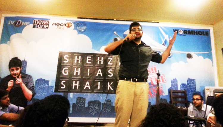 Shehzad Ghias Sheikh performed to packed crowds on both nights - Fresh off the Plane by Shehzad Ghias Sheikh at MAD School, Karachi