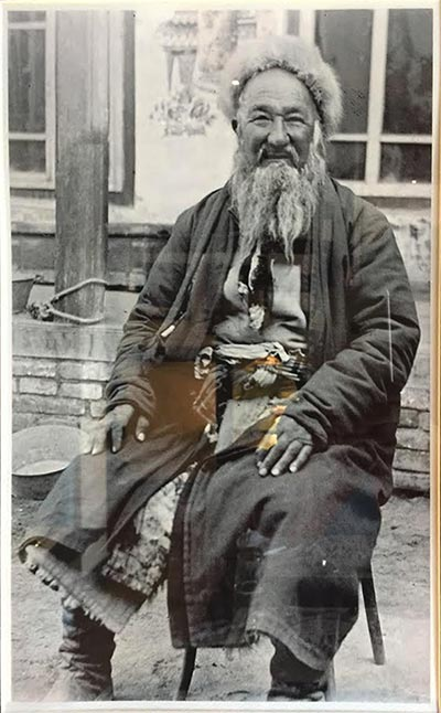 From San Francisco to Hunza - An old picture of a local villager