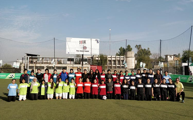 Participating teams including clubs, schools and colleges