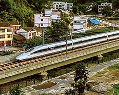 Go Travel on a High-Speed Train