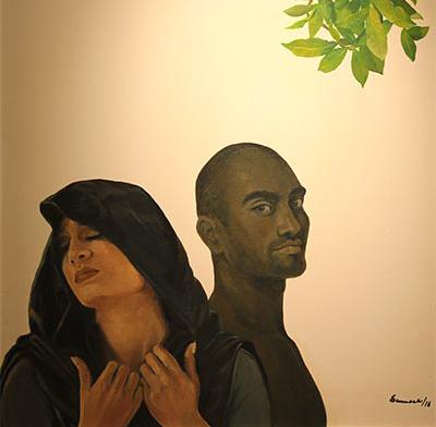 'Insinuation I' by Sumera Jawad