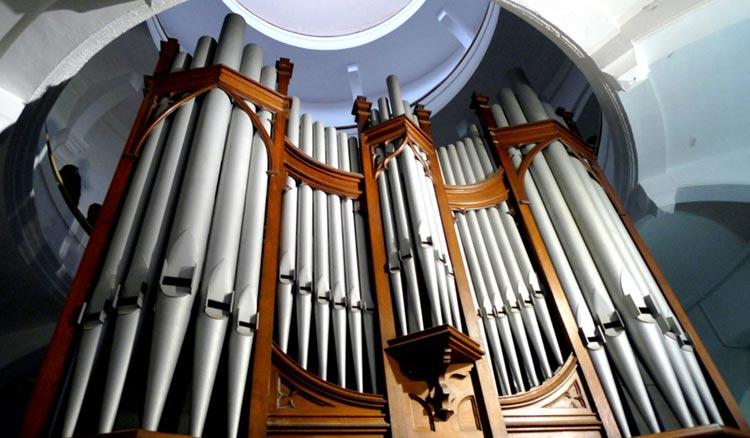 Organ Museum at Bagua Mansion, Gulangyu Island