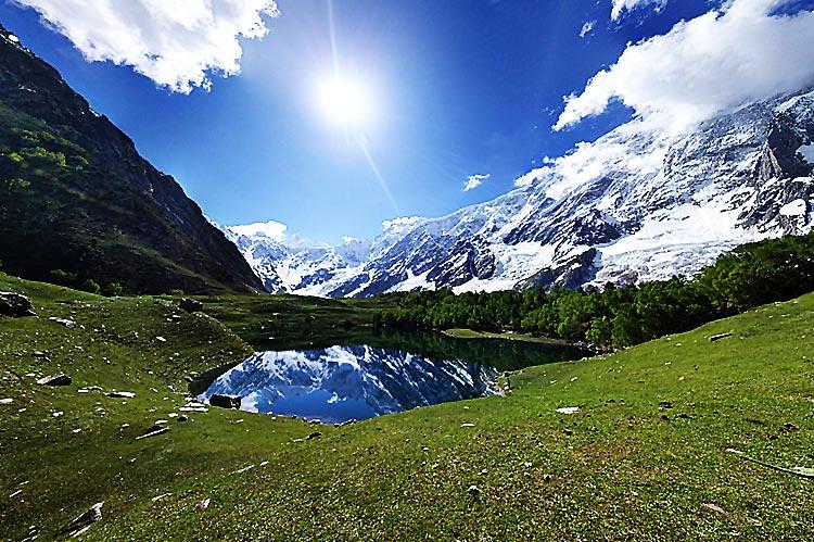 Kutwal Emerald Lake in Haramosh Valley - Travel to Haramosh Valley and Kutwal Emerald Lake