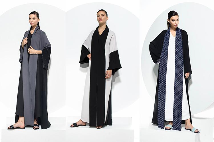 Homa Q Dailywear Latest Collection - Homa Qamar Chic Abaya Collection