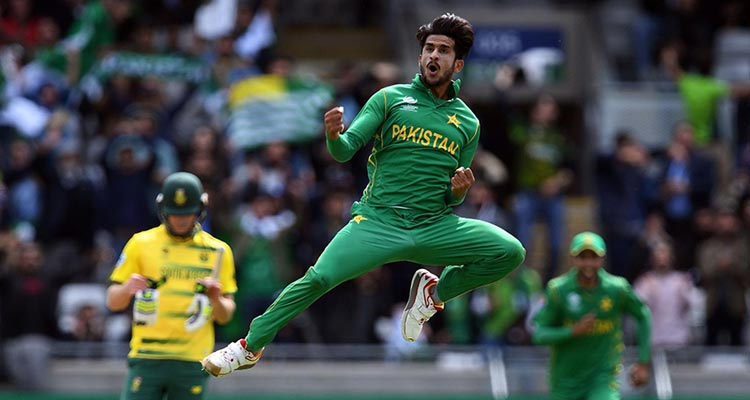Hassan Ali, the highest wicket taker of the ICC Champions Trophy 2017 - ICC Champions Trophy 2017 Final: A Comparison of Pakistan and India