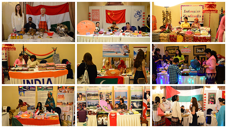 Various stalls at the IFWA Charity Bazaar - IFWA Charity Bazaar in Islamabad for Pink Ribbon Charity Hospital