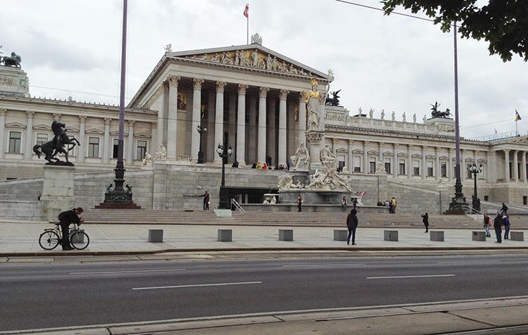 维也纳的壮丽帝国景象