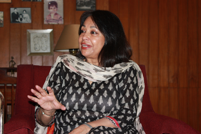 Mrs. Perveen Malik, President Asian Study Group - IN CONVERSATION WITH PERVEEN MALIK