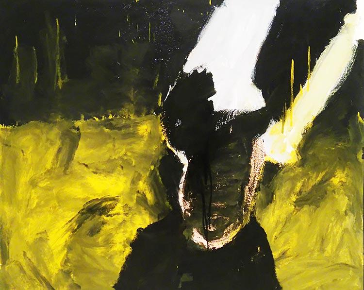 'Self Portrait II' by Abdullah Qureshi