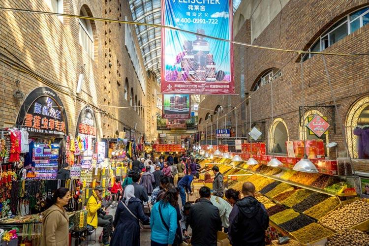 The Urumqi Grand Bazaar