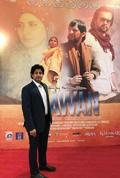 Farhan Alam at Karachi Premiere of Saawan