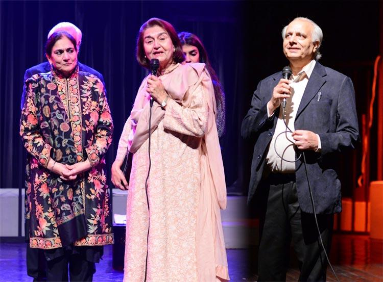 Madeeha Gauhar, Justice Nasira Iqbal and Shahid Nadeem