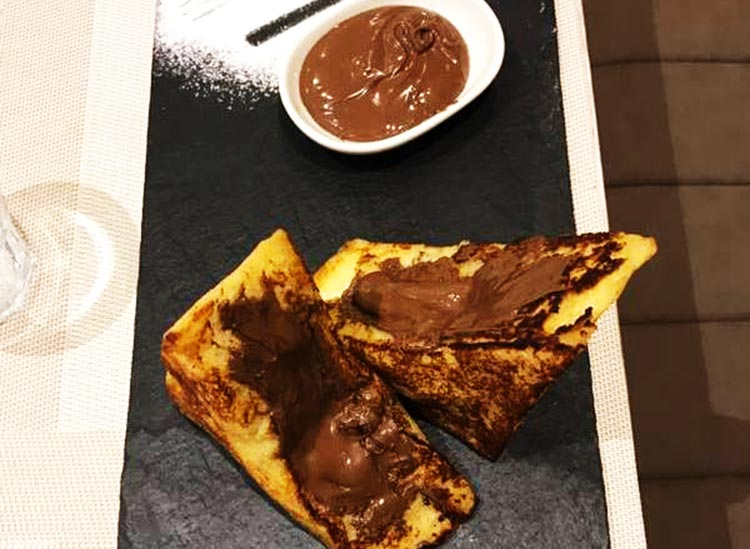 Jade Cafe by ChinaTown, Islamabad - Nutella Stuffed French Toast
