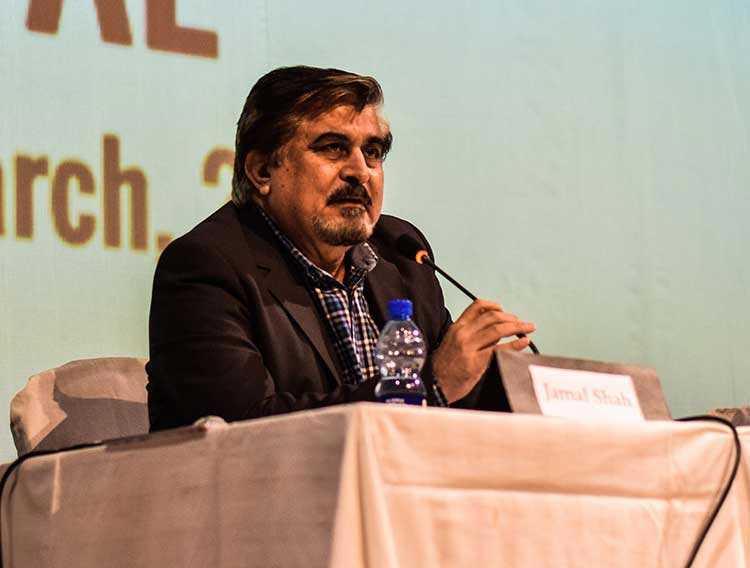 Jamal Shah at the Women International Film Festival, held at PNCA - Jamal Shah was among the panelists - Jamal Shah's PNCA: A Revolutionary Approach to Promoting Artists and Culture