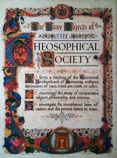 The Theosophical Society Poster