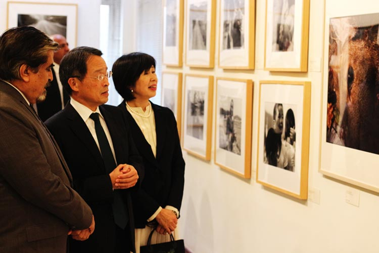 Mr. Jamal Shah, DG PNCA and Ambassador of Japan H.E. Mr. Takashi Kurai