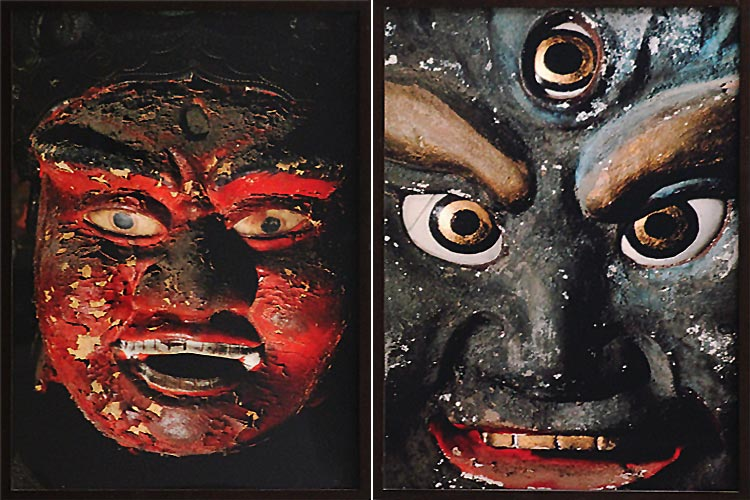 Masatoshi Naito's 'Aizen Myouo, Ragaraja Churenji' and 'Statue of Osawabutsu' (1981 -82)