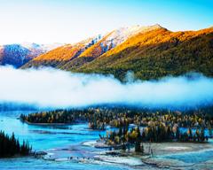 Kanas Lake, Burqin County, Xinjiang, China