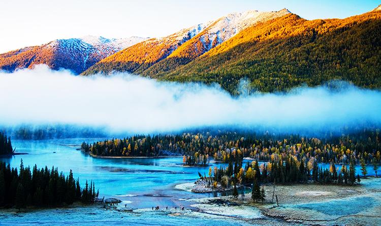 Kanas Lake - Kanas Lake, Burqin County, Xinjiang, China
