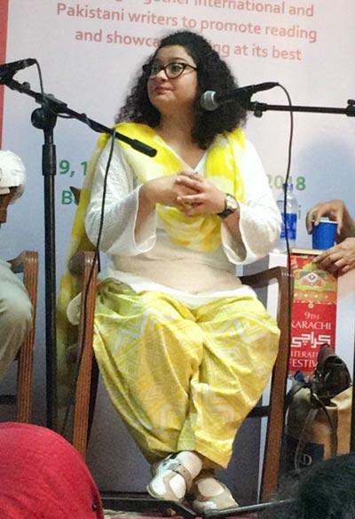 Sania Saeed at KLF