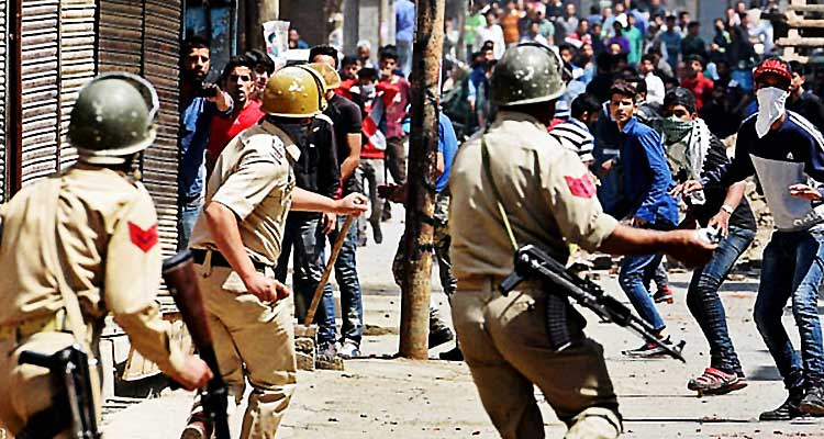 Fighting for freedom with stones - Kashmir Freedom and the Sinha Committee Report