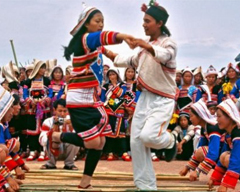 Knife-Pole Festival of Lisu People