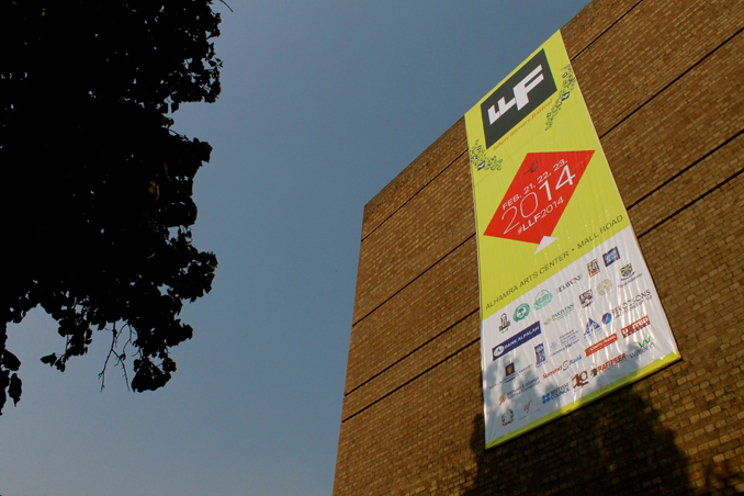(photo by Aleeza Rasool) - LAHORE LITERARY FESTIVAL 2014 - DAY I