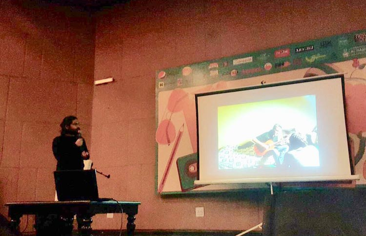 Mobeen Ansari's talk