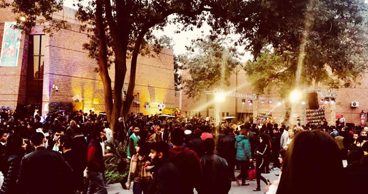 The crowd - Lahore Music Meet 4th Edition
