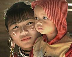 Lahu Nationality of China